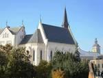 Studentský kostel sv. Rodiny v prosinci